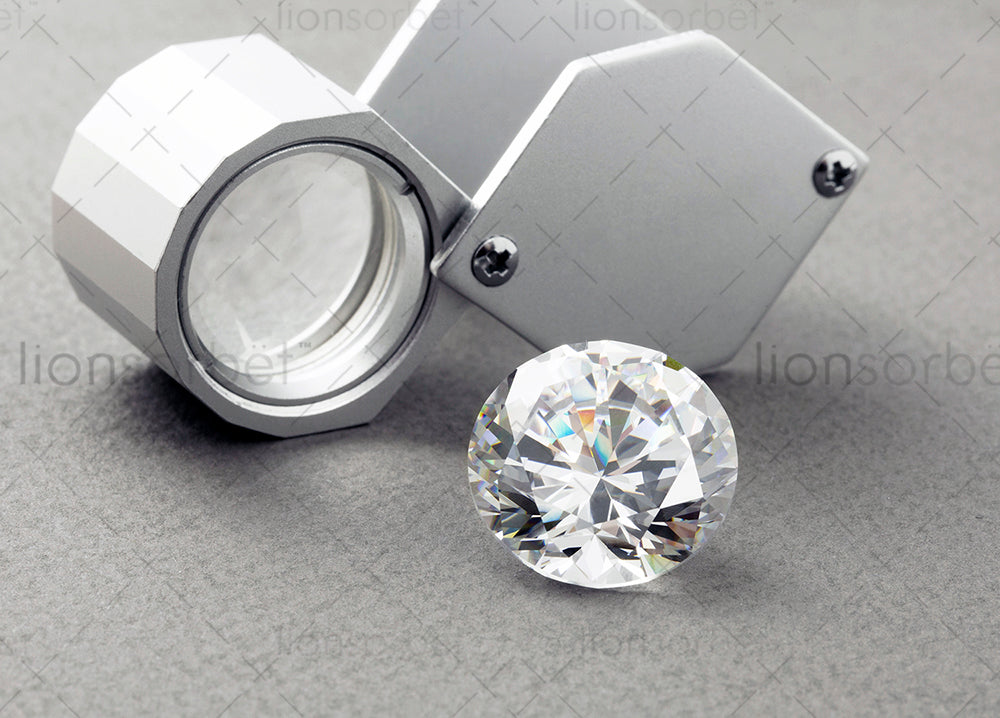 diamond and diamond loupe