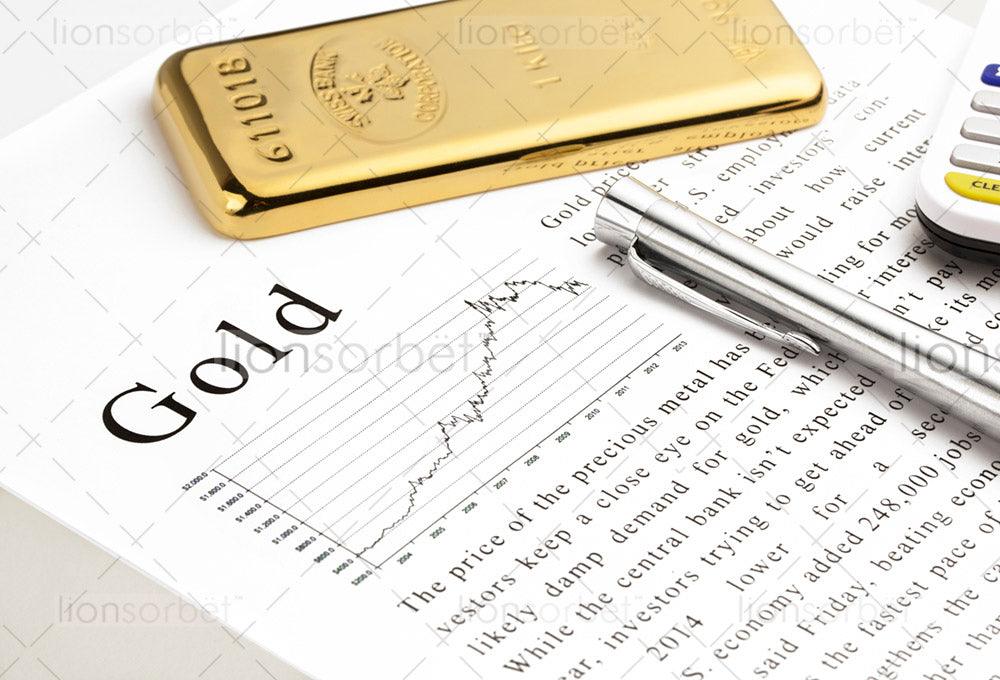 gold price and bullion bar