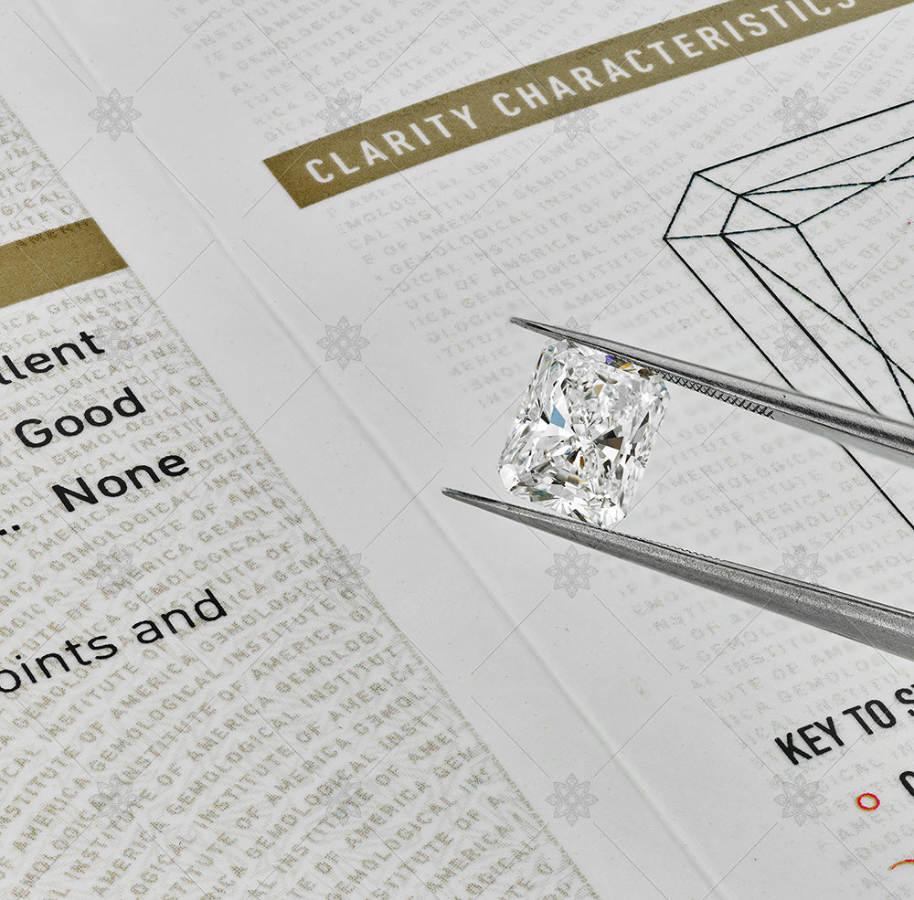 2ct radiant diamond