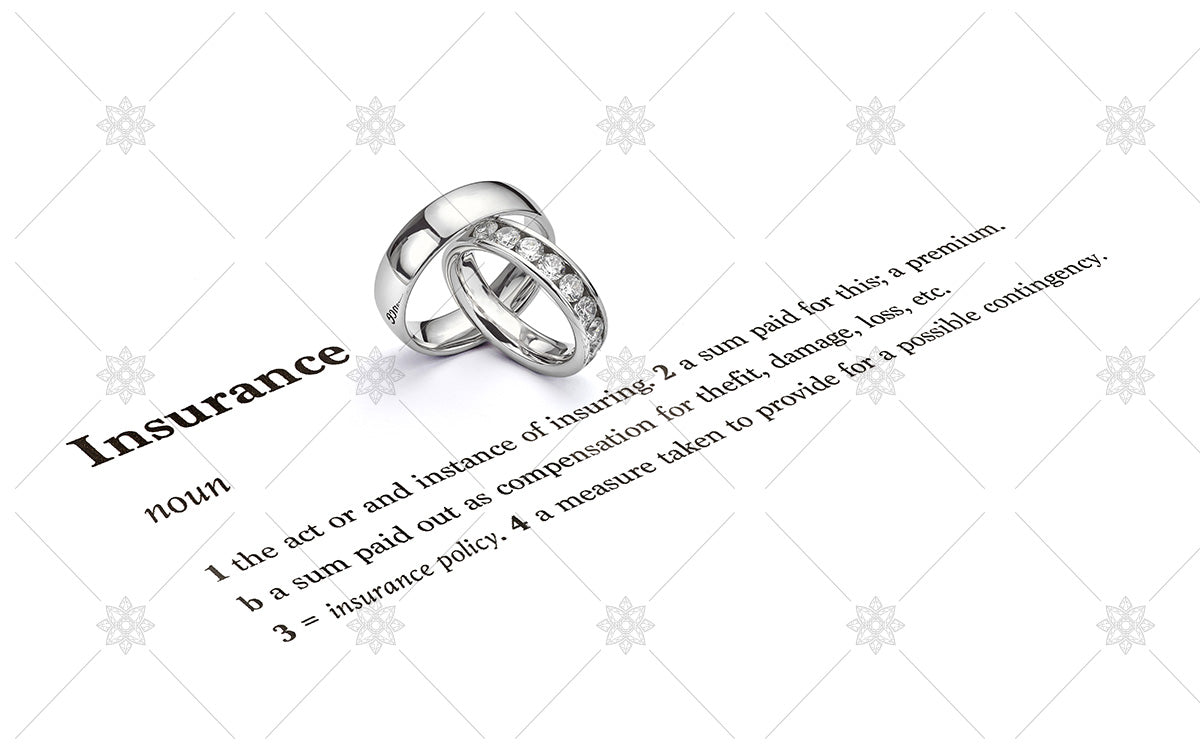 Jewellery insurance for wedding rings