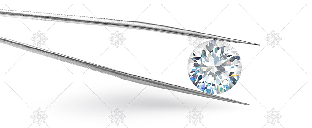 Diamond Tweezers horizontal view