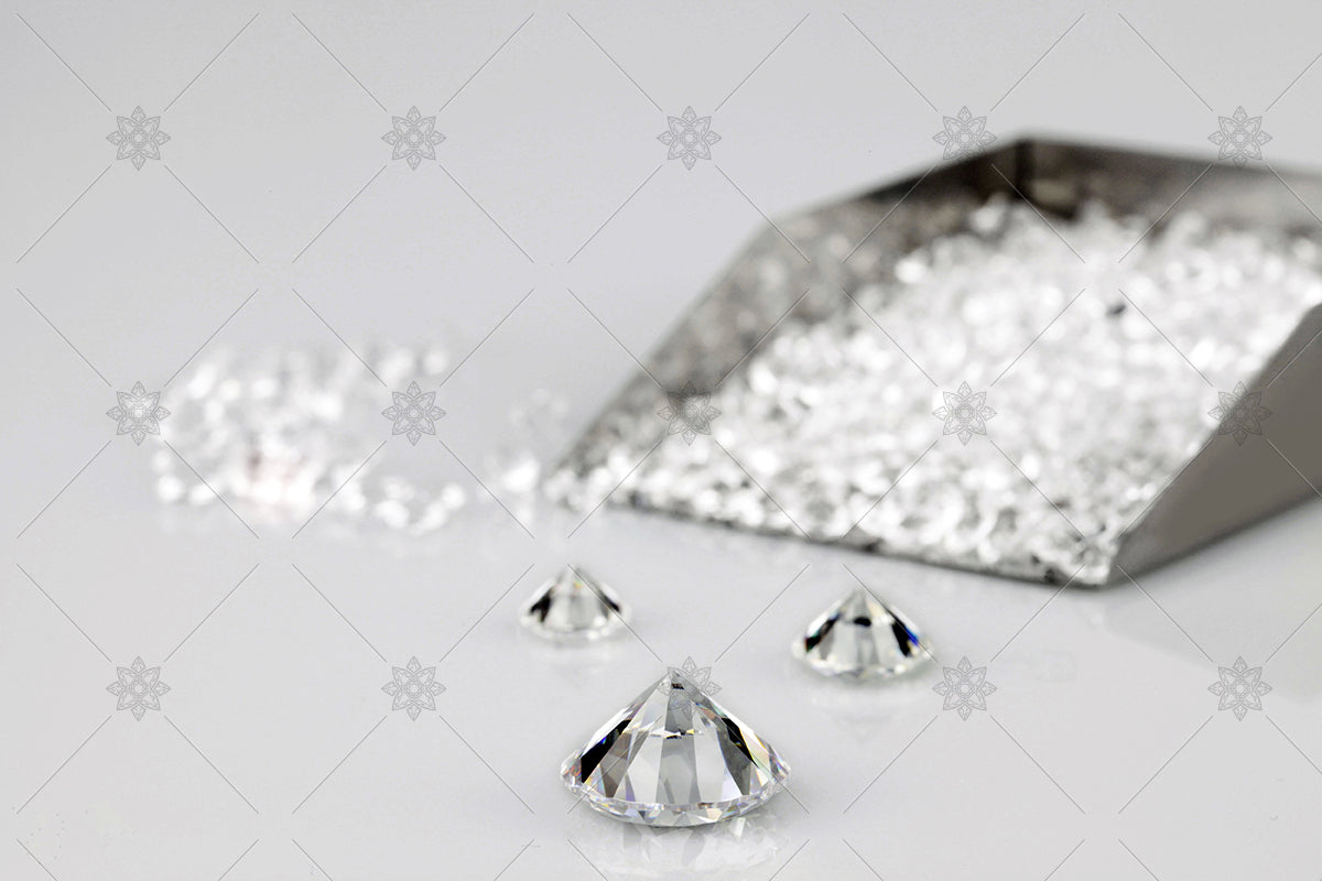 Metal Diamond Scoop - shovel of diamonds