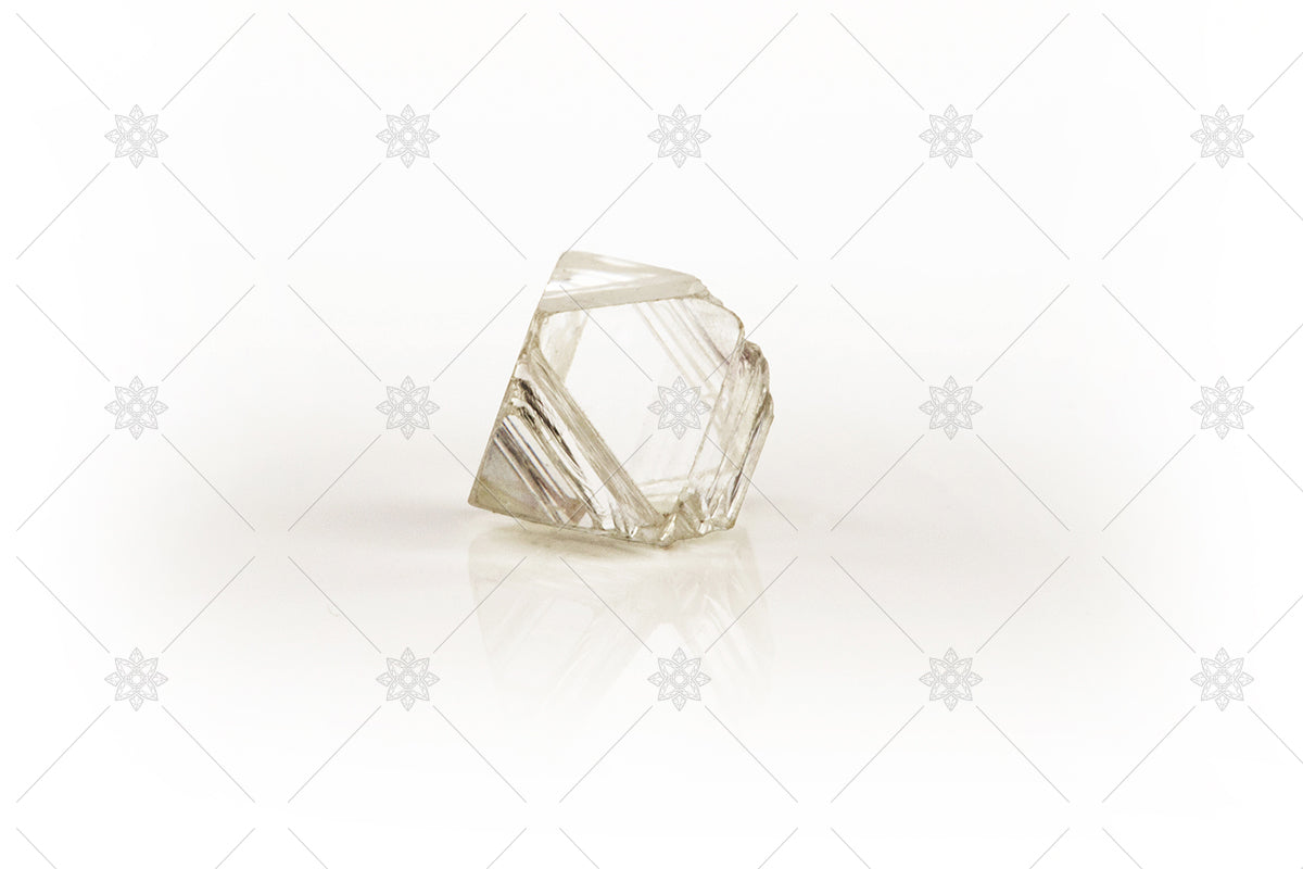 single rough diamond GIA