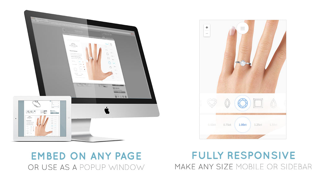 compare diamond sizes app
