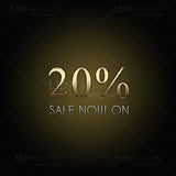 20% SALE website graphics for retail stores - images for download
