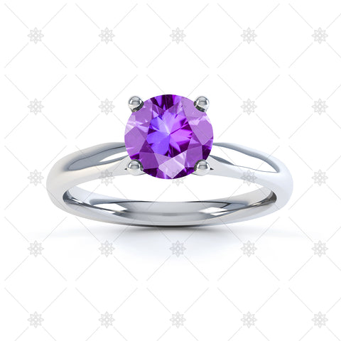 Amethyst Gemstone Ring Images - 3015
