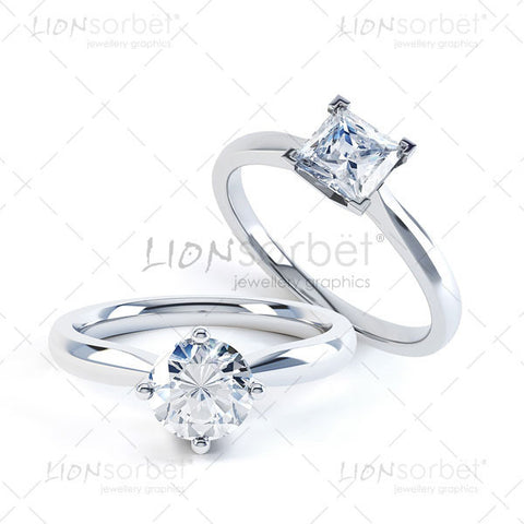 Image of a set of Diamond Rings