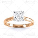 Cushion Cut Diamond Ring Image Pack