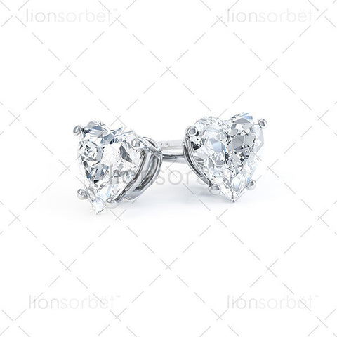 Domino Earring 541SP Heart