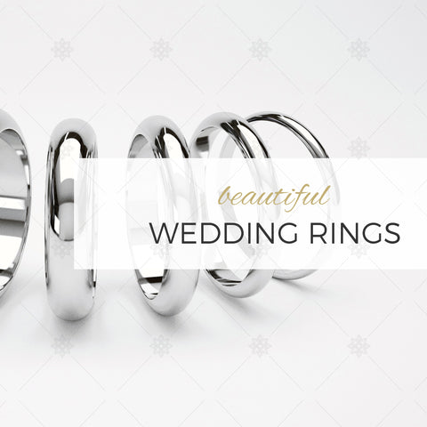 Wedding Ring Website Banner - B1002