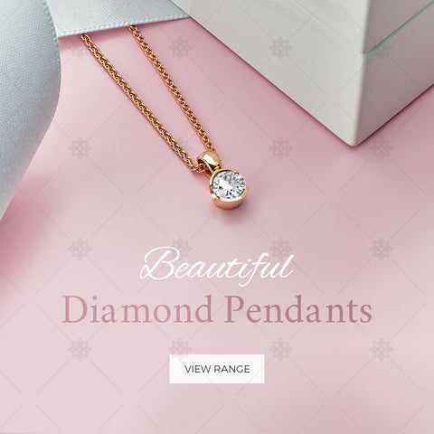 Diamond Pendants website banner - B1007