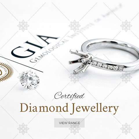 Certified Diamond Rings website Banner - B1010