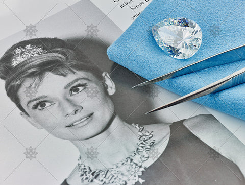 Pear Diamond Audrey Hepburn  - MJ1044