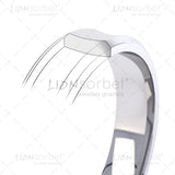 concave wedding ring profile