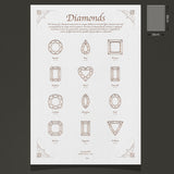 Diamond Shape Print - Limited Edition