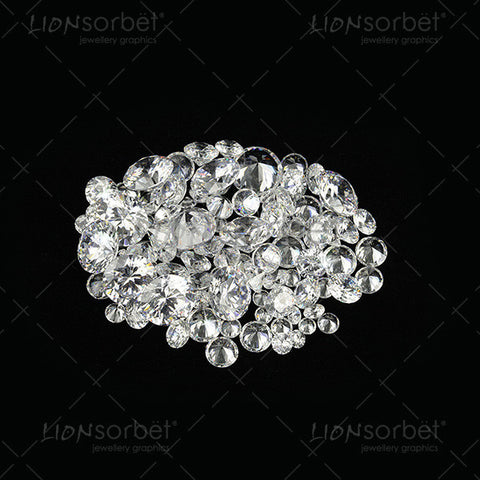 group of diamonds picture