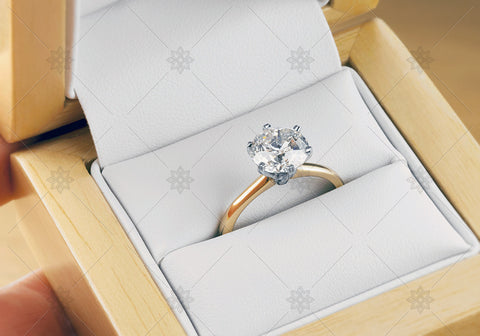 2ct Diamond Ring proposal - MJ1034