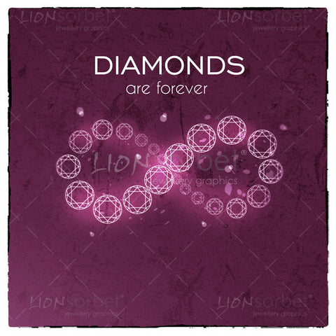 Diamonds are forever - Infinity diamonds image