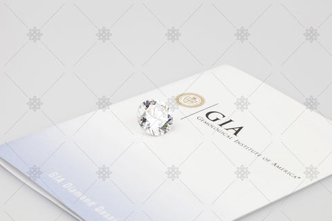GIA Certificate with Diamond - RT1001