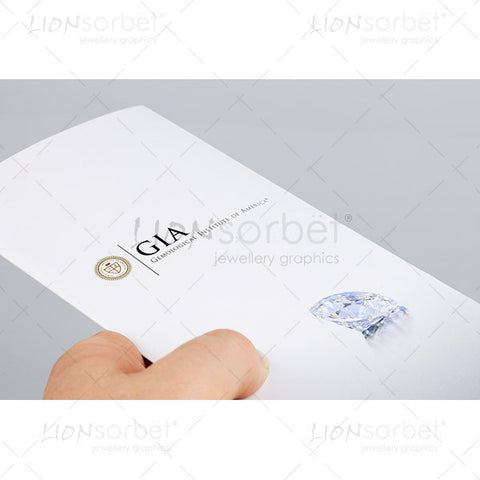 GIA Certificate in hand
