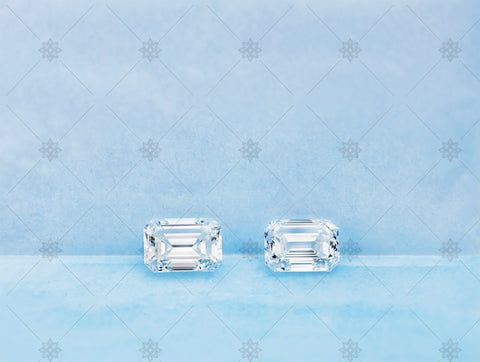 3ct Emerald Cut Diamonds - GS1011
