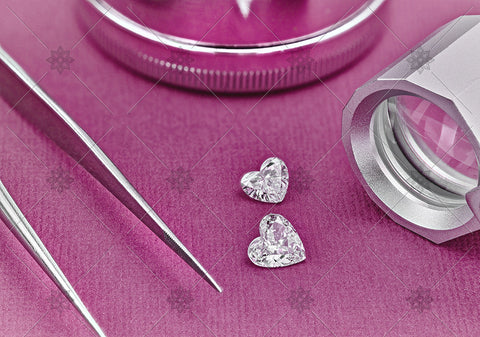 Heart Shaped Diamonds - MJ1056