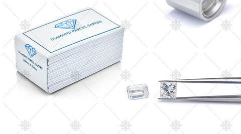 Diamond Rings with Diamond Parcel Papers - JG4074