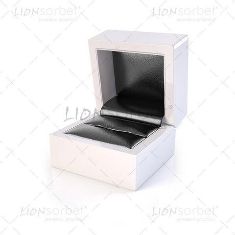 Image of Jewellery Box with black insert