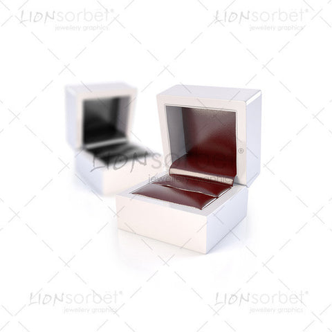 Image of 2 blank jewellery boxes