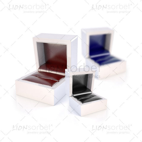 Image of 3 jewellery boxes