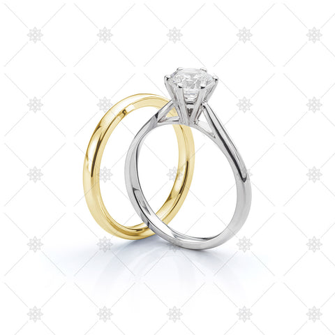 Engagement Ring and Wedding Ring set - LS1014