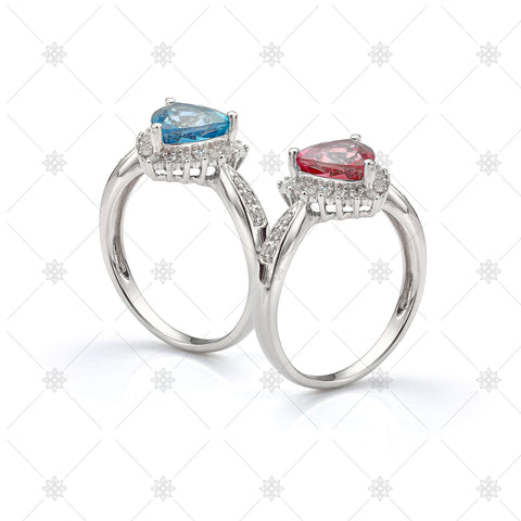 Vintage Gemstone and Diamond Rings - LS1019