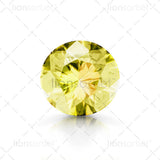 lemon quartz gemstone
