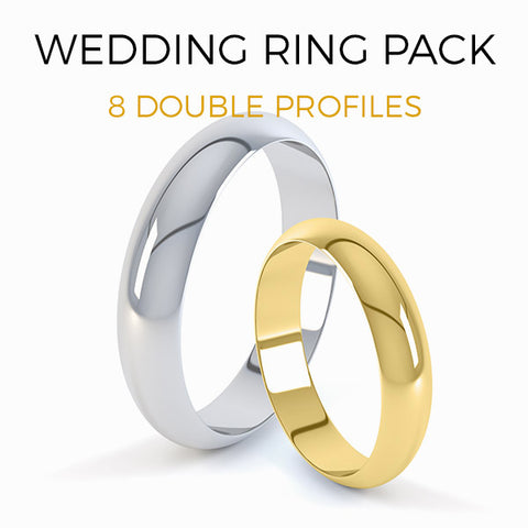 Wedding Ring Double Profile Pack  - MP017