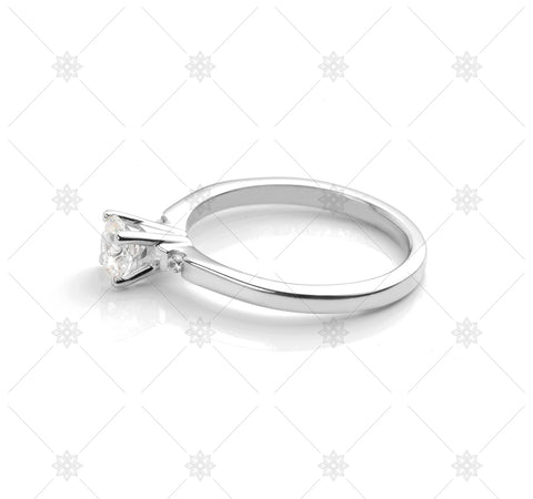 White Gold Diamond Ring - NE1012