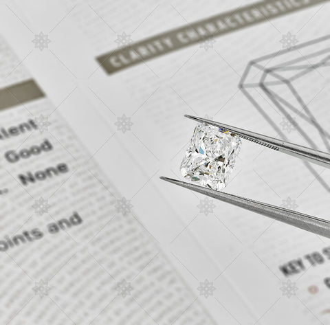 2ct Radiant Diamond  - NE1029