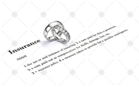 Jewellery Insurance Wedding Rings - NE1042