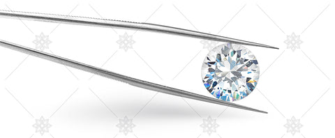 Diamond with tweezers banner image - NE1010