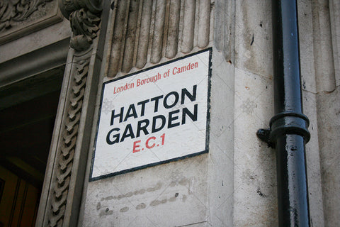 Hatton Garden Sign EC1 - PL1001