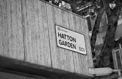 Hatton Garden Sign EC1 - PL1002