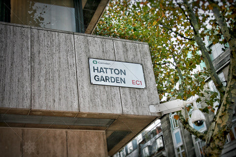Hatton Garden Sign EC1 - PL1003