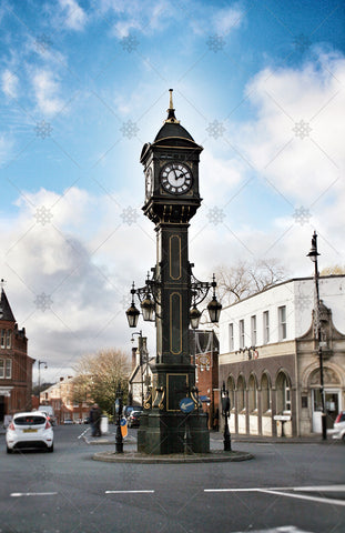 Birmingham Jewellery Quarter Clock Tower - PL1007