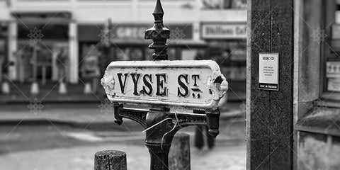 Vyse Street Sign Jewellery Quarter  - PL1017