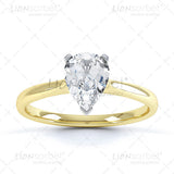 Pear 3 Claw Diamond Ring Image Pack