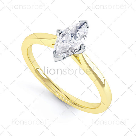 Domino R1-1114 Marquise Ring