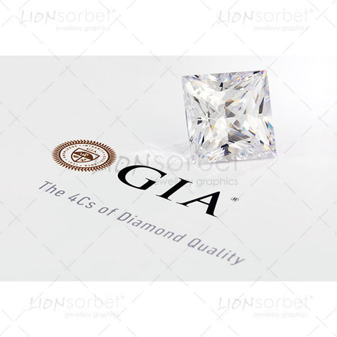 4c's princess cut diamond diamond