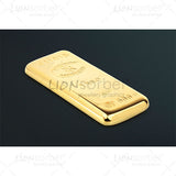 Bullion bar black background