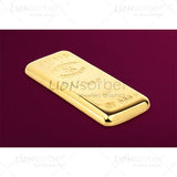 Bullion bar pink background