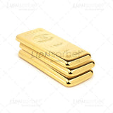 Bullion bar white background