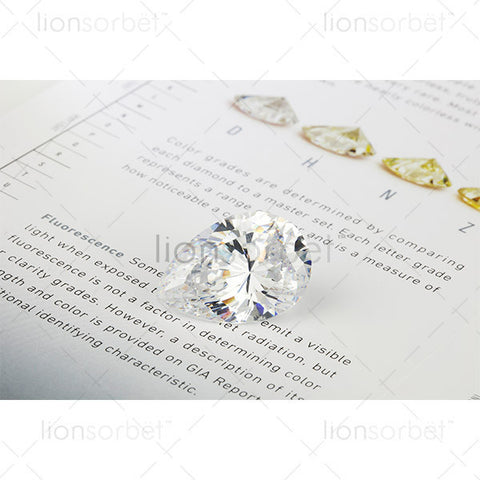 Pear Diamond with Colour Chart - RT1057